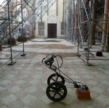 chiesa-san francesco-mirandola-indagini-georadar