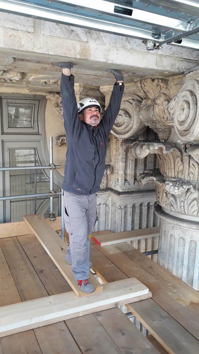 Partite le indagini con georadar sulla facciata di Palazzo Madama a Torino