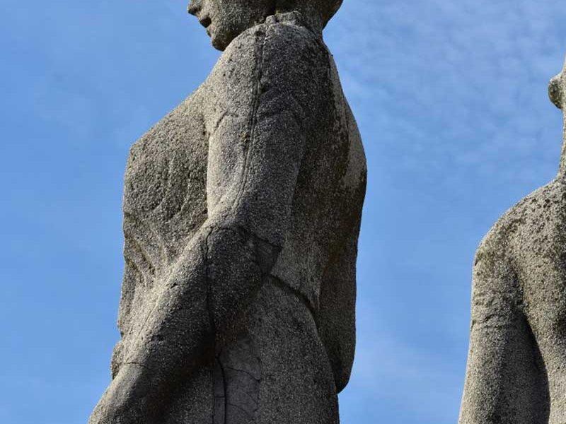 caratterizzazione cemento microspia ottica statua
